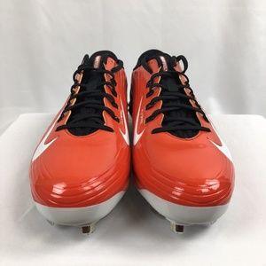 Nike Shoes - Nike Lunar Vapor Pro Low Orange Baseball Cleats 13